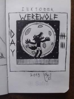 Inktober 2018: Day 7- Werewolf