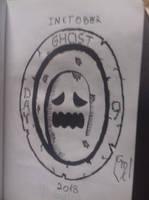 Inktober 2018: Day 9- Ghost by Maxirider