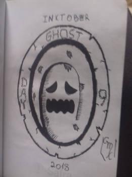 Inktober 2018: Day 9- Ghost