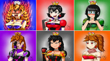 Super Crown OC's: All together by Maxirider