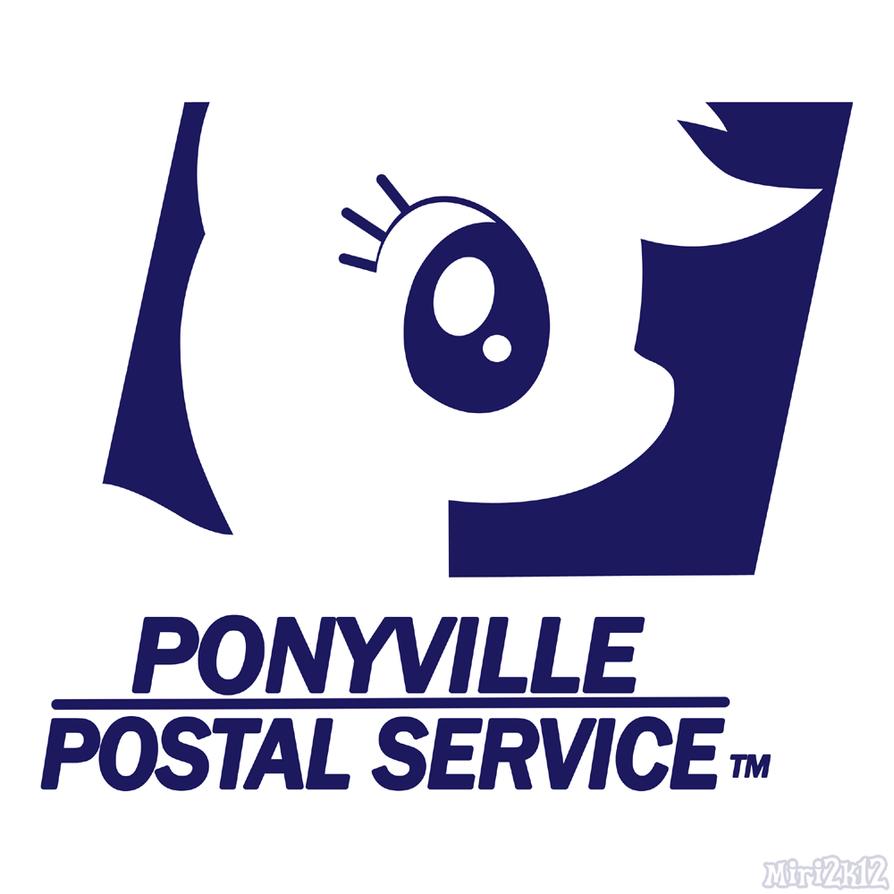 Ponyville Postal Service Logo By PrettyKitty ...