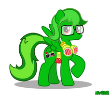 Commish - Gummy G. Green by PrettyKitty