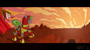 Collab - Raise The Sun by PrettyKitty