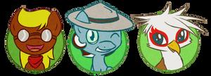 Lil Twitchy, Rommel, Flinn by PrettyKitty