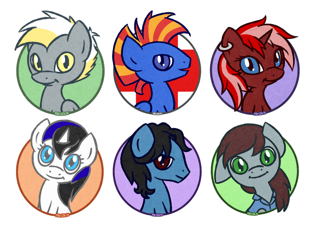 More Pony Avatart by PrettyKitty