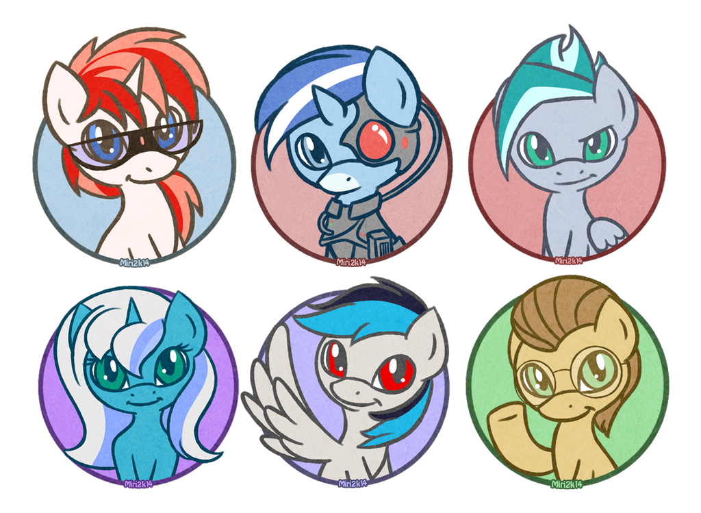 Hey look more Avatars by PrettyKitty
