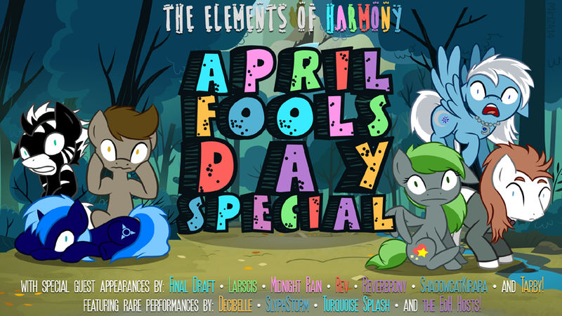 Elements of Harmony April Fools Promo by PrettyKitty