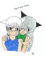 Viz and Hev Mito by MatsuKami