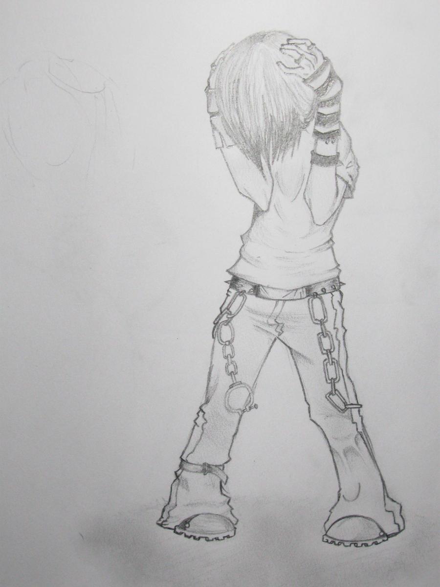 Anime Kid Crying Anime Emo Girl Crying Drawing