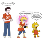 You Are Lisa Simpson (Art by Anon)