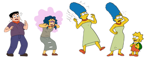 Marge Simpson TF/TG (No Mom Jeans Here) (by Anon)