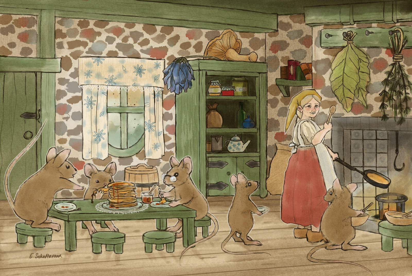 Pannenkoeken by Elin-Lintu