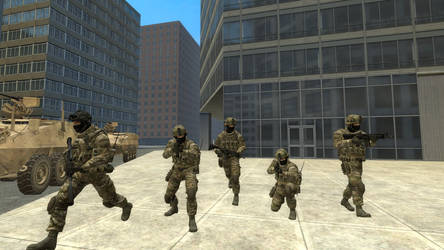 N.E.S.T Special Forces by TheOperations