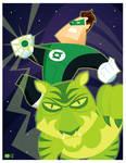 Green Lantern Commission