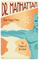 Dr Manhattan by Montygog