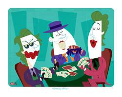 Three of a kind by Montygog