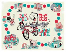 PeeWees Big Adventure by Montygog