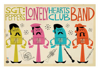 Sgt Peppers Lonely Hearts Club by Montygog