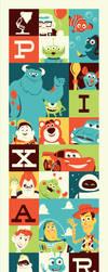 Pixar 25 Variant by Montygog
