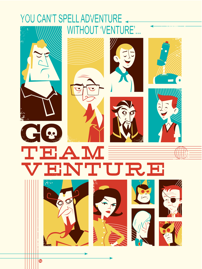 Go Team Venture by Montygog