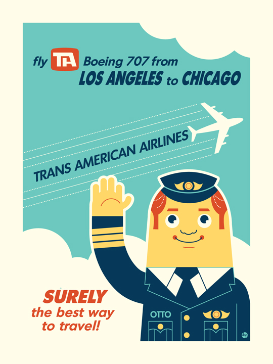 Trans American Airlines by Montygog