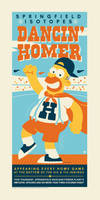 Dancin Homer by Montygog