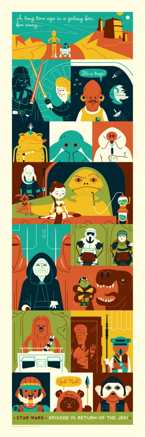 Return of the Jedi by Montygog