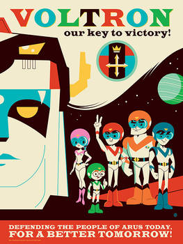 Voltron Our Key to Victory