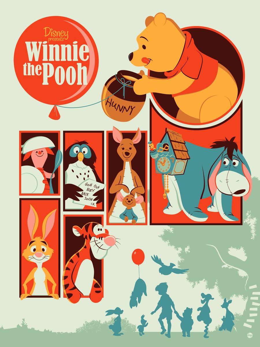 Winnie the Pooh by Montygog