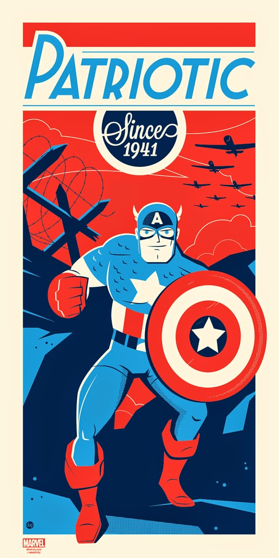 Captain America by Montygog