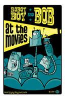 Robot Boy and Bob by Montygog