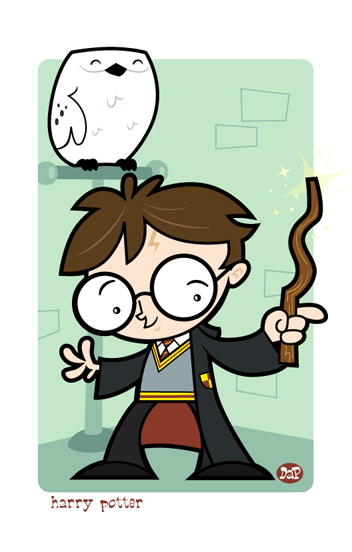 Harry Potter by Montygog