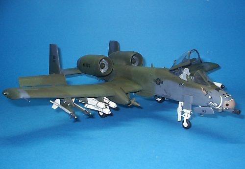 A-10 Thunderbolt II Monogram by marek1101