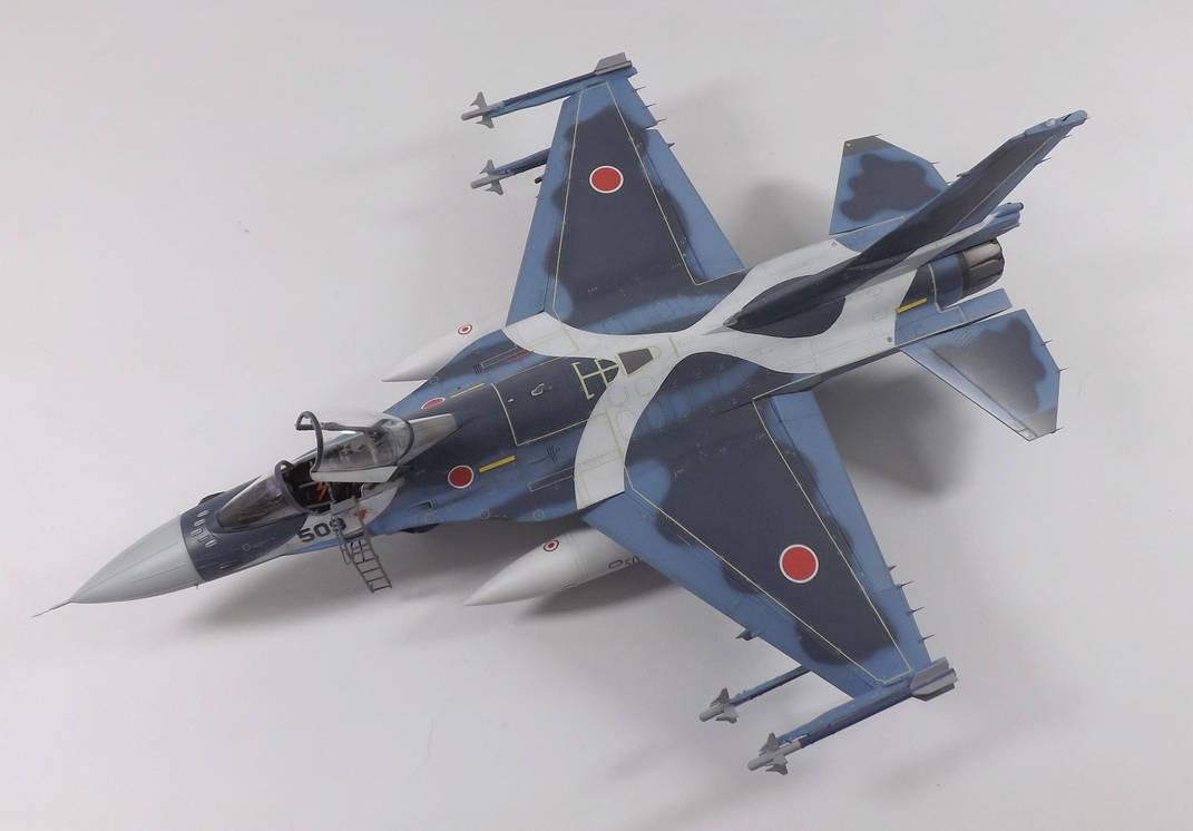 Mitsubishi F-2A Viper Zero by marek1101