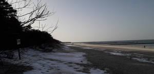 Ustka Eastern beach