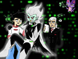 danny vlad and their...son? (colored epically) by diaperdigigirl
