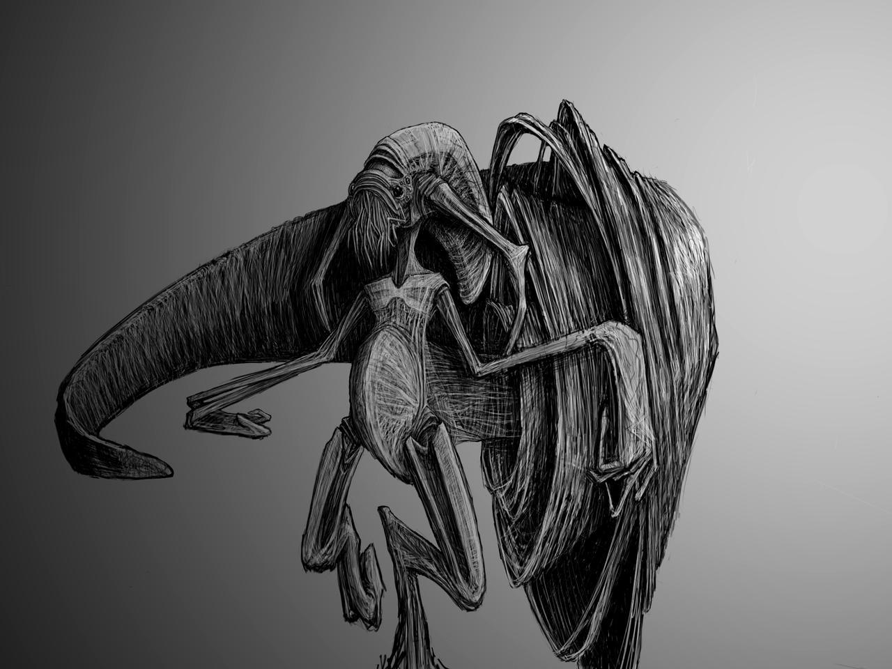 Prawn Slug by TAerst