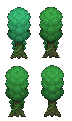 Jungle tree Tiles by carchagui on DeviantArt
