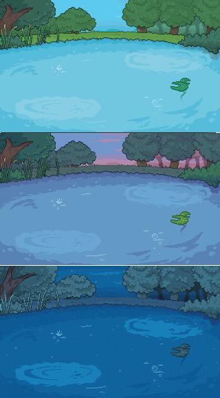 Lake background V2