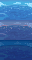Sea background by carchagui