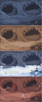 Cave background