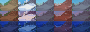 Mountains variations