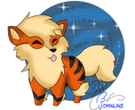 Day 10 _ Favorite FIRE type - ARCANINE