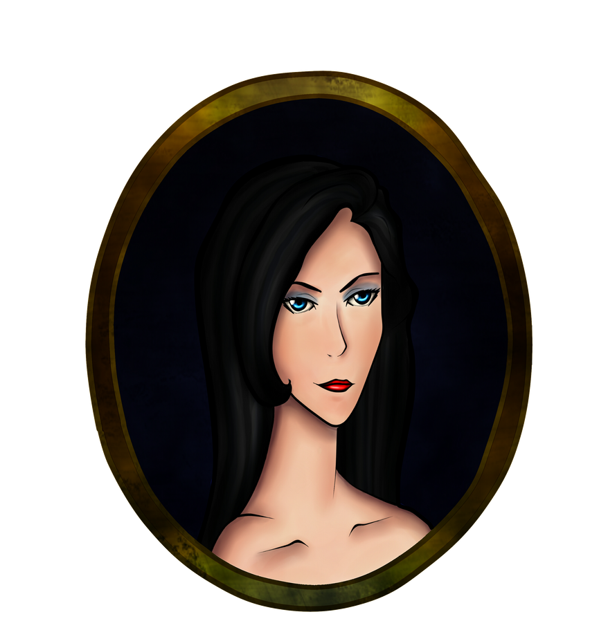 OC headshot 01: Claudia Flamel by xlollx