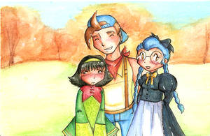 Jack, Dia and Gina by Butterscotch25