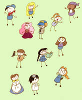 Harvest Moon Stick Figures by Butterscotch25