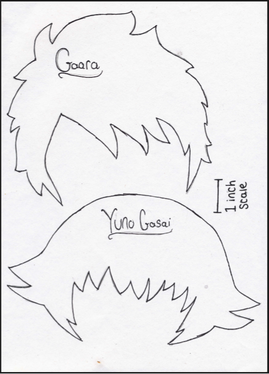 Plushie template hair by Loolcakes21 on DeviantArt