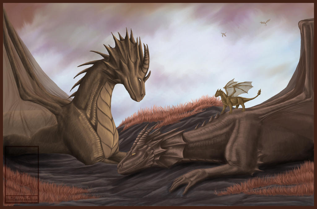 with the dragon - photo #23