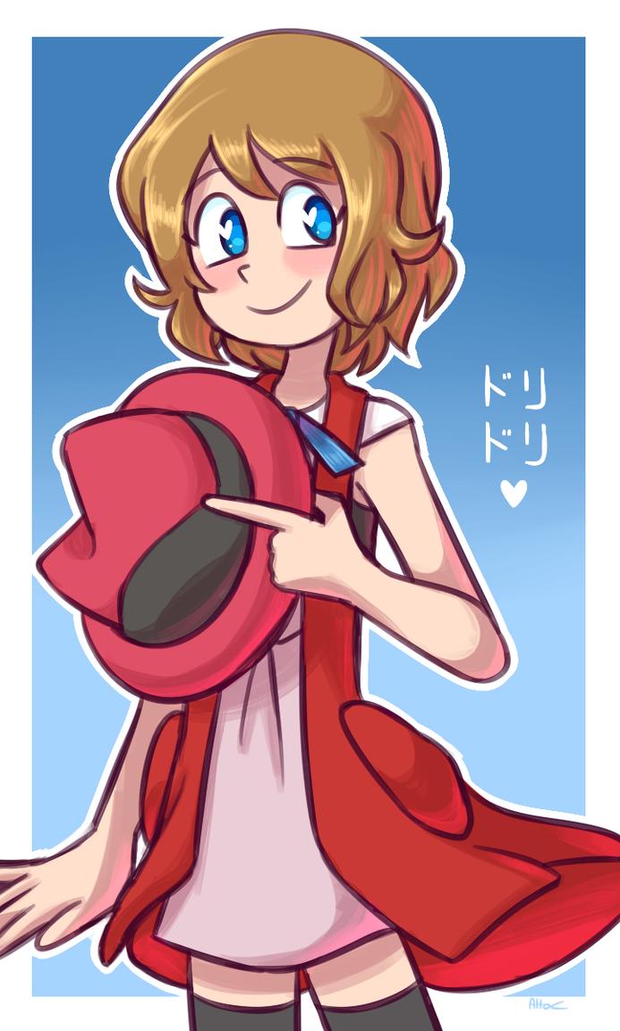 Pokemon Serena as Ash   Pokemon ash and serena, Pokemon