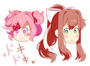 Doki Doki Literature Club: favorite girls!